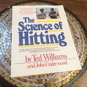 The Science Of Hitting Vintage Paperback Book